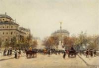 La Place du Châtelet, Paris